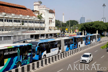 Kasus COVID-19 Pekerja Transjakarta Meningkat