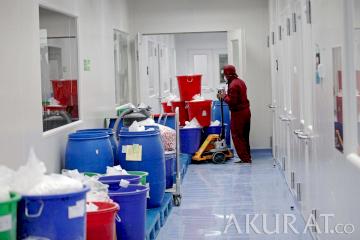 Kimia Farma Produksi Obat Anti Virus COVID-19 250.000 Perhari