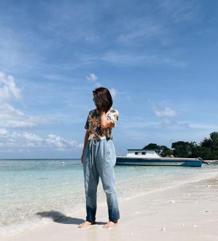 5 Foto Memesona Liburan Greysia Polii di Manado, Bak Wisata ke Eropa - Foto 4