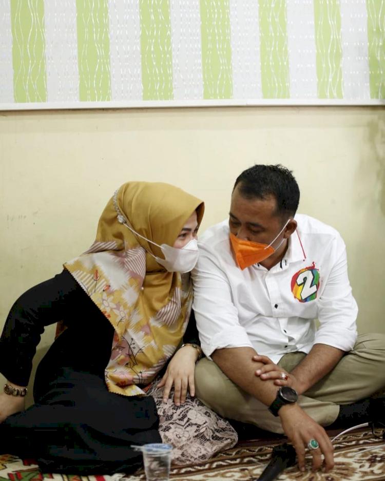 Jarang Tersorot, 7 Potret Romantis Wakil Wali Kota Medan Aulia Rachman dan Istri - Foto 6