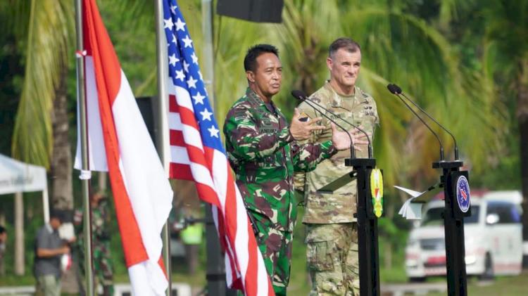 Garuda Shield ke-15 Resmi Digelar, Simak Pesan KASAD dan Commanding General USARPAC - Foto 1