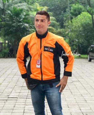 5 Editan Foto Lucu Ronaldo karya Fans Tanah Air, Ada di PP Muhammadiyah - Foto 1