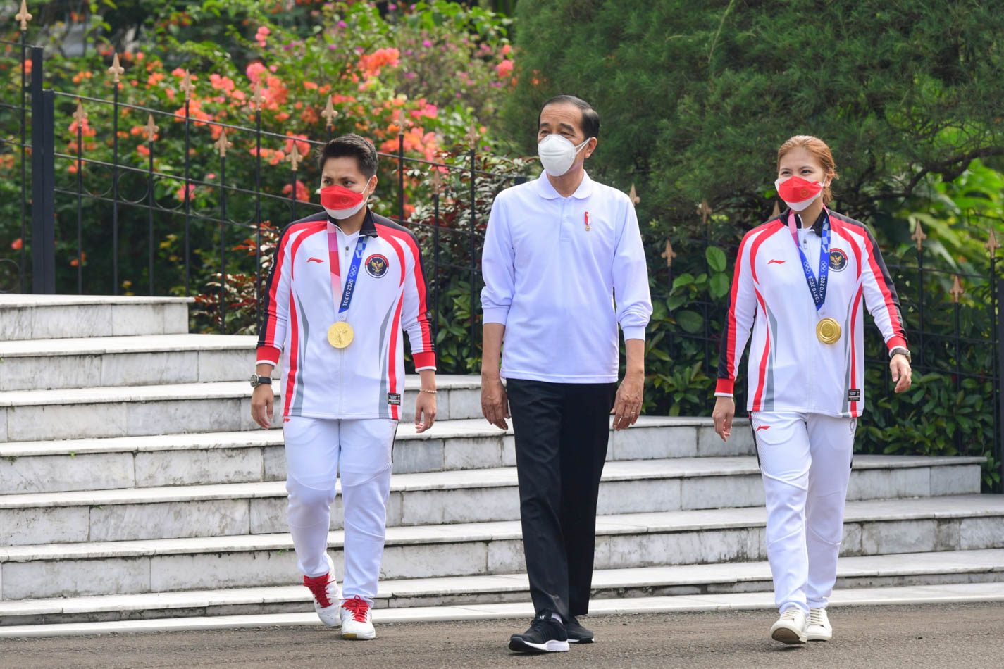 Presiden Berikan Bonus Miliaran Rupiah kepada Peraih Medali di Olimpiade Tokyo