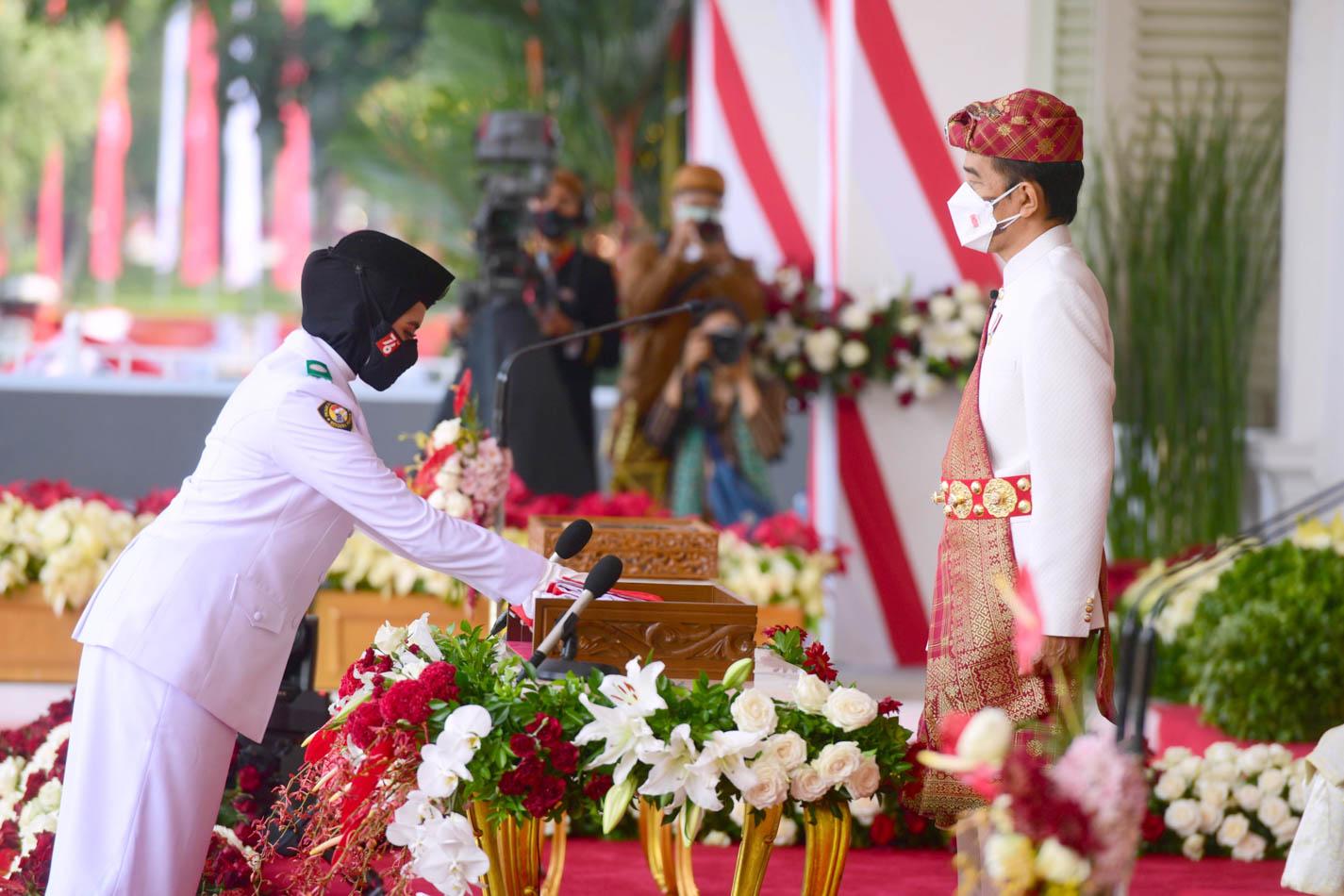 Peringatan Detik-Detik Kemerdekaan RI di Istana Merdeka