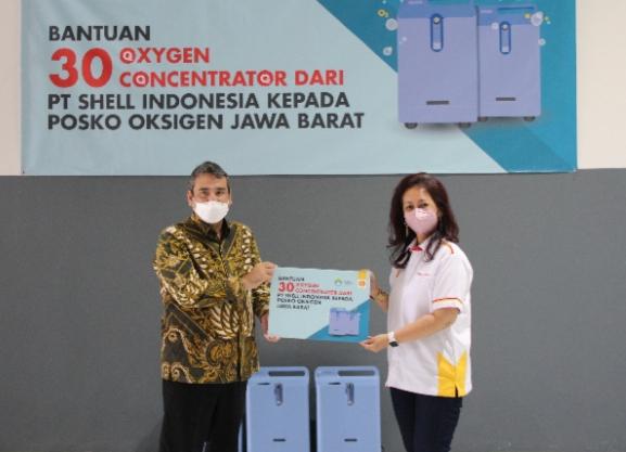 Dukung Penanganan Pandemi, Shell Donasikan Konsentrator Oksigen