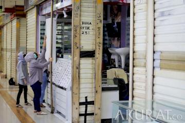 Uji Coba Pembukaan Pusat Perbelanjaan Jakarta Timur