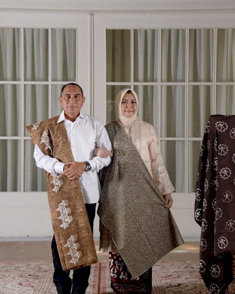5 Potret Gubernur Sumatera Utara Edy Rahmayadi, Ada yang Sedang Mengendarai Becak - Foto 4