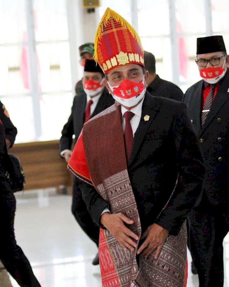 5 Potret Gubernur Sumatera Utara Edy Rahmayadi, Ada yang Sedang Mengendarai Becak - Foto 5