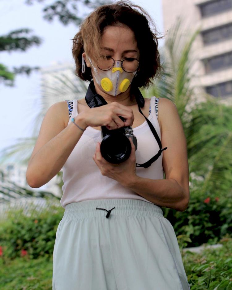 Setia Menemani Ari Lasso, 5 Potret Vitta Dessy yang Tampak Awet Muda - Foto 3