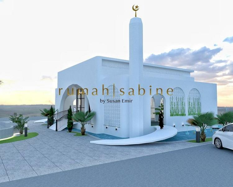 Dapat Rp500 Juta dari Deddy Corbuzier buat Amal, 7 Desain Masjid yang Bakal Dibangun Ivan Gunawan - Foto 3