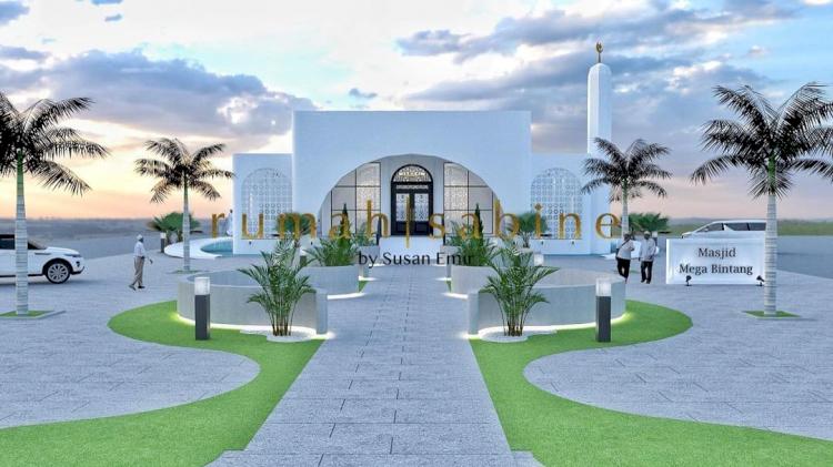 Dapat Rp500 Juta dari Deddy Corbuzier buat Amal, 7 Desain Masjid yang Bakal Dibangun Ivan Gunawan - Foto 6