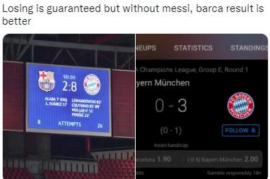 5 Meme Kocak Kekalahan Barca dari Bayern, Dan Terjadi Lagi... - Foto 1