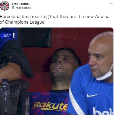 5 Meme Kocak Kekalahan Barca dari Bayern, Dan Terjadi Lagi... - Foto 3