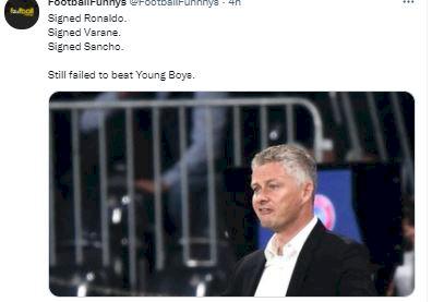 5 Meme Lucu MU Kalah dari Young Boys, Efek Ada Ronaldo - Foto 5