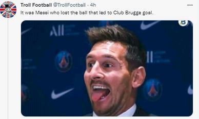 5 Meme Kocak Messi, Mbappe, Neymar Tak Bisa Apa-apa Di Liga Champions - Foto 2