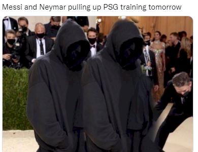 5 Meme Kocak Messi, Mbappe, Neymar Tak Bisa Apa-apa Di Liga Champions - Foto 3