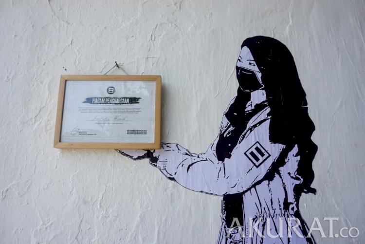 85 Karya Ternekat Hingga Paling Mengusik Menangi Lomba Mural Dibungkam - Foto 1