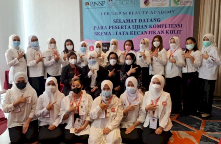M-Beauty Academy Gelar Uji Kompetensi Beautician untuk Klinik Kecantikan - Foto 1