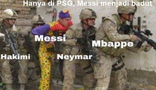 5 Meme Kocak Messi Tampil Buruk di PSG, Ditunggu Golnya... - Foto 3