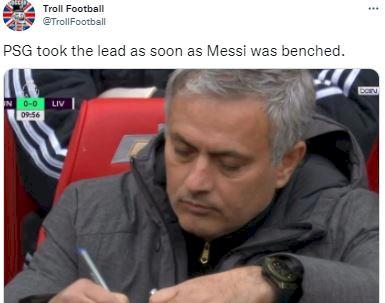 5 Meme Kocak Messi Tampil Buruk di PSG, Ditunggu Golnya... - Foto 4