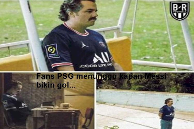 5 Meme Kocak Messi Tampil Buruk di PSG, Ditunggu Golnya... - Foto 5
