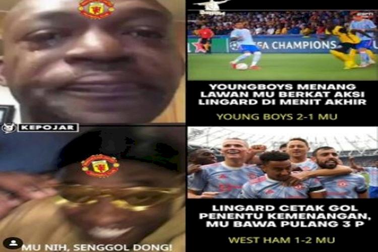 5 Meme Kemenangan MU atas West Ham, Pahlawannya De Gea atau Lingard - Foto 2