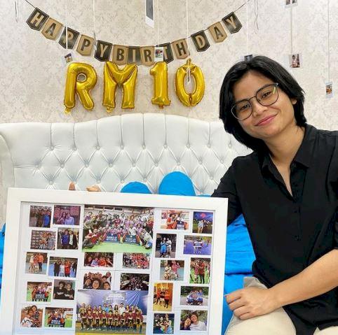 7 Foto Manis Rani Mulyasari, Gelandang Timnas Wanita Indonesia - Foto 5