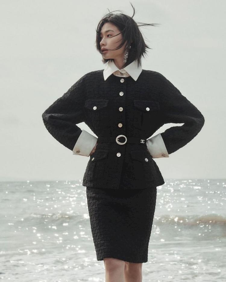 Potret Cantik Model Jung Ho Yeon Kekasih Lee Dong Hwi - Foto 4