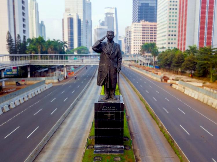 5 Patung Paling Ikonik di Jakarta - Foto 1