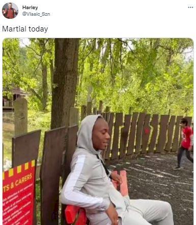 5 Meme Kocak Anthony Martial yang Tampil Buruk, Bikin Fans MU Gemes - Foto 1