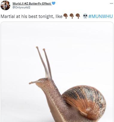 5 Meme Kocak Anthony Martial yang Tampil Buruk, Bikin Fans MU Gemes - Foto 2
