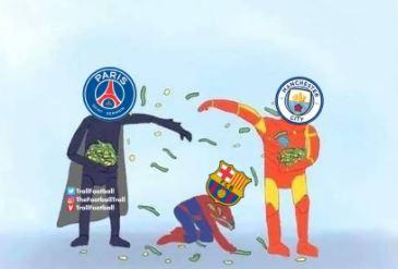 5 Meme Kocak PSG vs Manchester City, Laga El Cashico - Foto 5