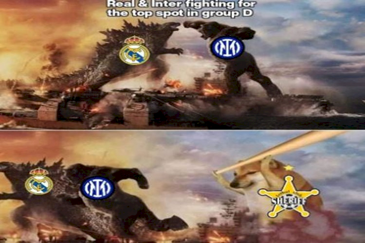 5 Meme Kocak Kemenangan Sheriff atas Real Madrid di Liga Champions - Foto 4