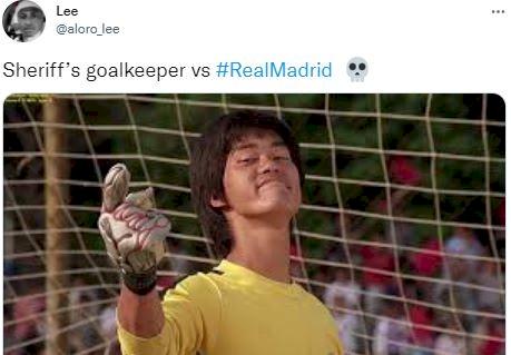 5 Meme Kocak Kemenangan Sheriff atas Real Madrid di Liga Champions - Foto 2