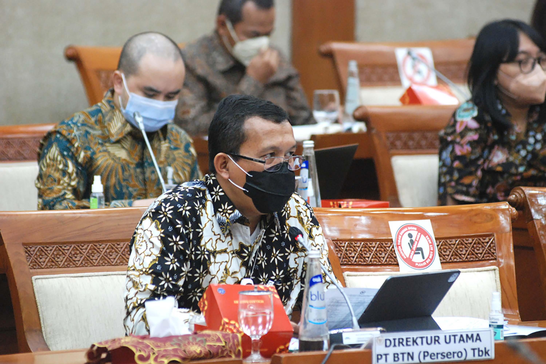 Rapat Dengar Pendapat BTN dengan Komisi VI DPT
