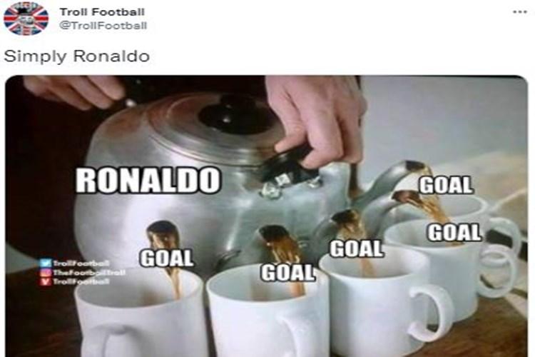 5 Meme Lucu Cristiano Ronaldo Tampil di Liga Champions, Jaminan Gol
