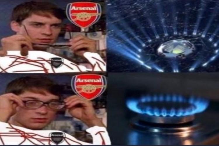 5 Meme Kocak Kembalinya Liga Champions, Arsenal Mana Nih?