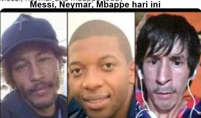 5 Meme Kocak Messi, Mbappe, Neymar Tak Bisa Apa-apa Di Liga Champions