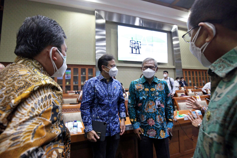Menkes dan Menteri PPN Rapat Kerja Membahas Bidang Kesehatan