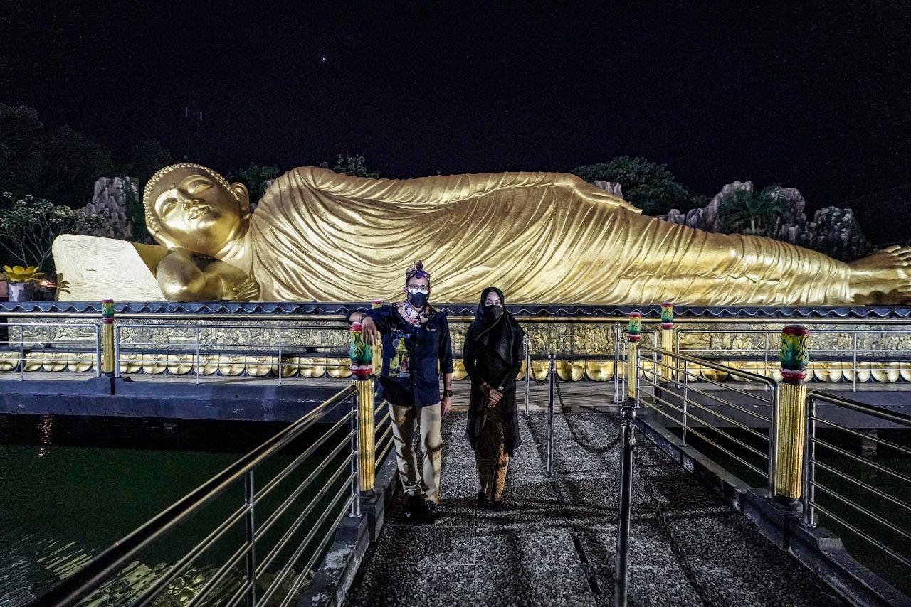 Ademnya Kampung Majapahit Bejijong, Ikon Toleransi Islam dan Budha