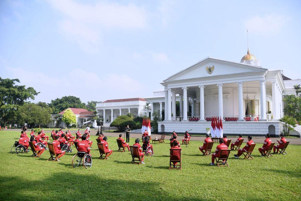Presiden Jokowi Berikan Bonus kepada Kontingen Paralimpiade Tokyo 2020