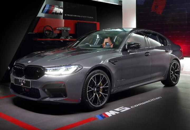 The New BMW M5 Competition Meluncur di Infdonsia, Digadang Punya Mesin Paling Gahar