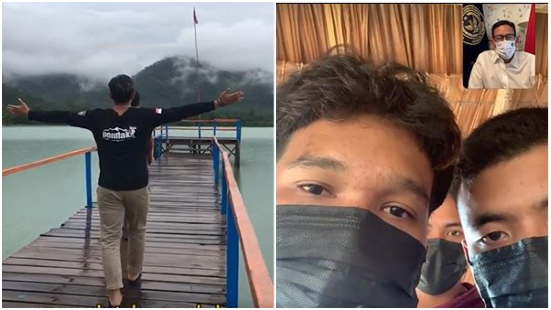 Bikin Kagum Menparekraf Sandiaga Uno, Cerita Pemuda Ubah Bekas Tambang jadi Destinasi Wisata