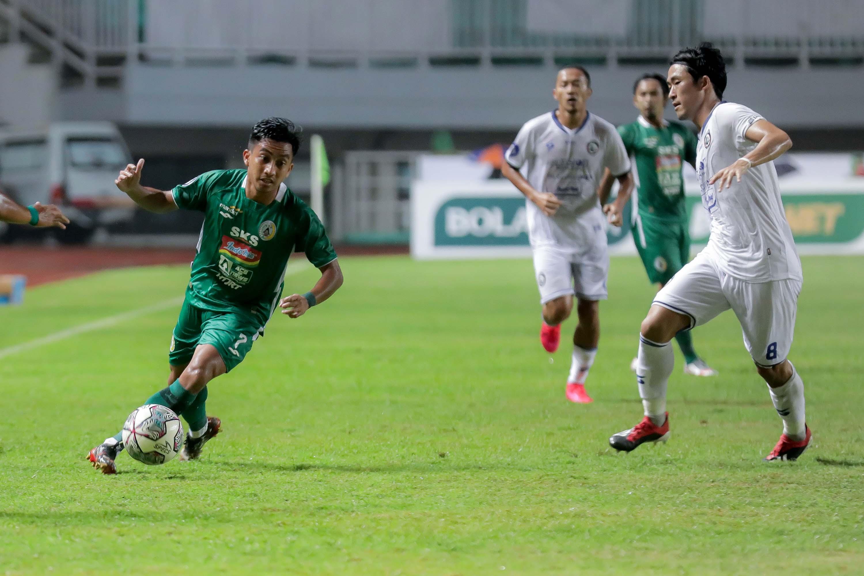 PSS Sleman Imbang Melawan Arema FC di Babak Pertama