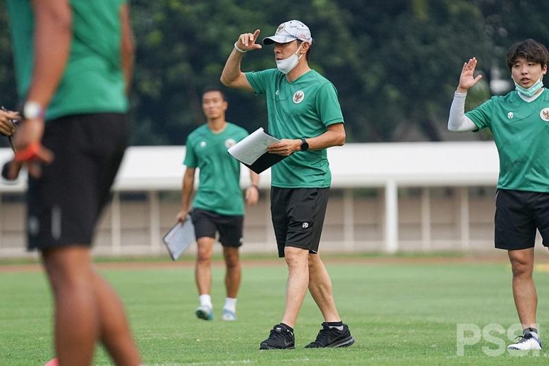 Shin Tae-Yong Janji Pemusatan Latihan Bakal Lebih Ringan