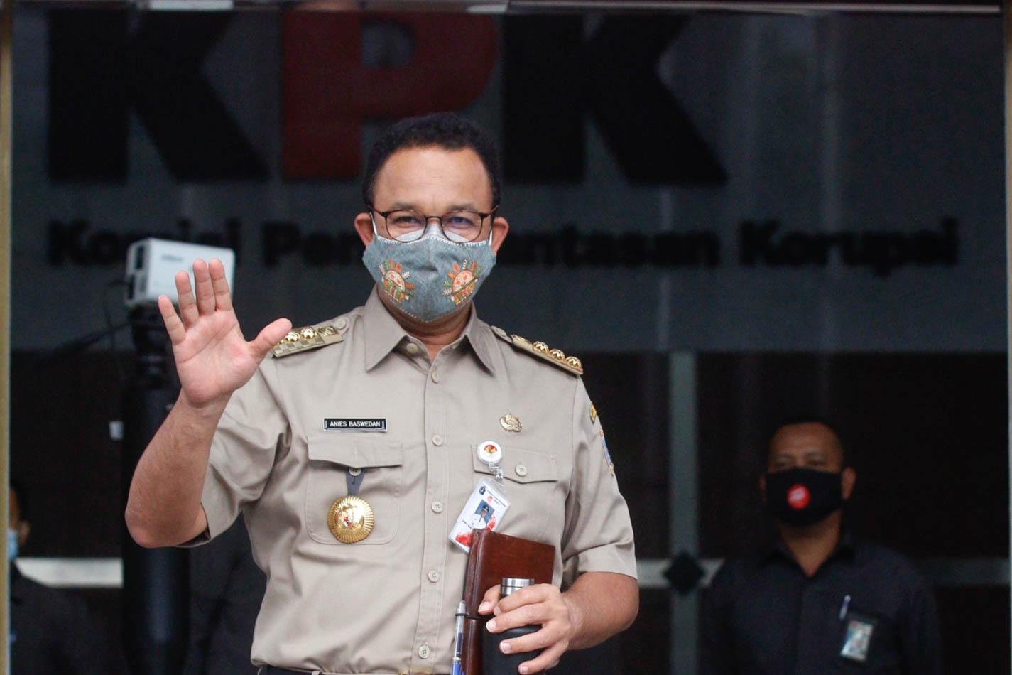 Diperiksa KPK Selama Lima Jam, Anies Baswedan Dicecar Sembilan Pertanyaan