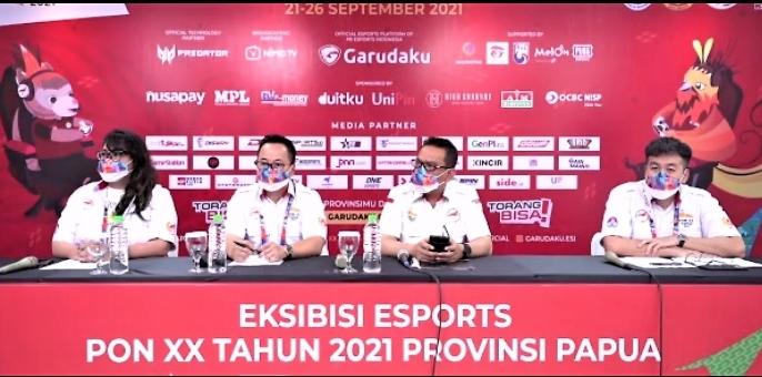 Resmi Dibuka, Eksibisi Esports PON XX Papua 2021 Berpotensi Pacu Ekonomi Digital