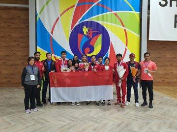 Indonesia Borong 5 Emas di Kejuaraan Menembak Asia 2021