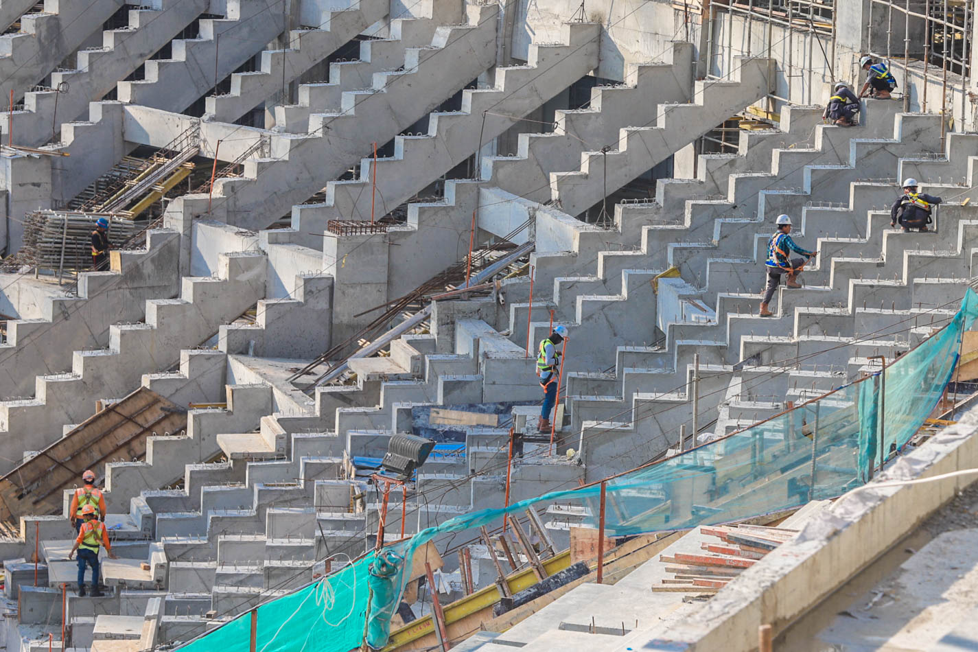 Pembangunan Jakarta International Stadium Capai 71 Persen