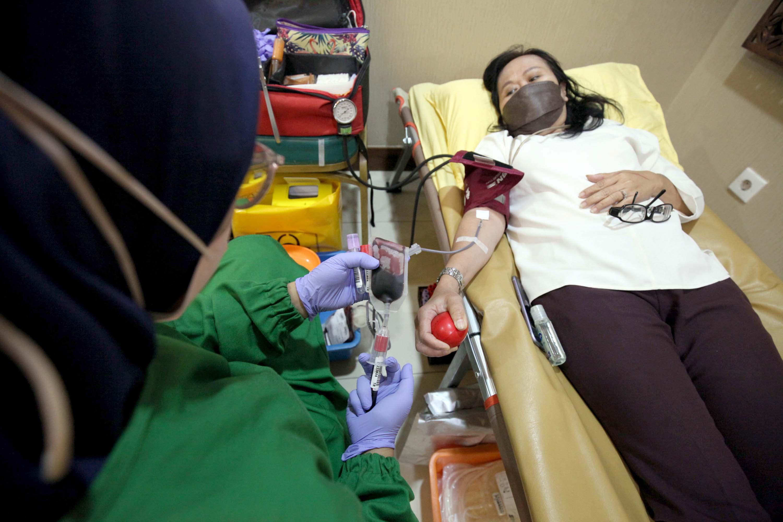 Donor Darah Perayaan HUT ke-17 DPD saat Pandemi Covid-19